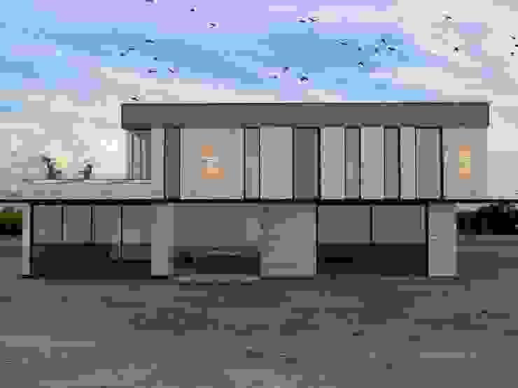 von Murat Aksel Architecture Modern Holz Holznachbildung