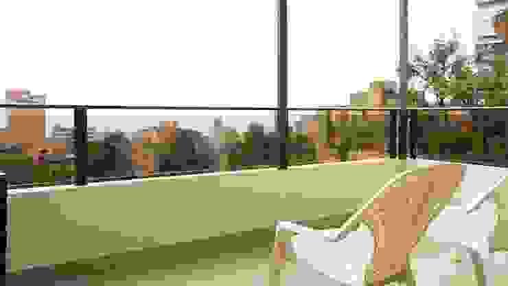 Balcón sin Home Staging de homeblizz