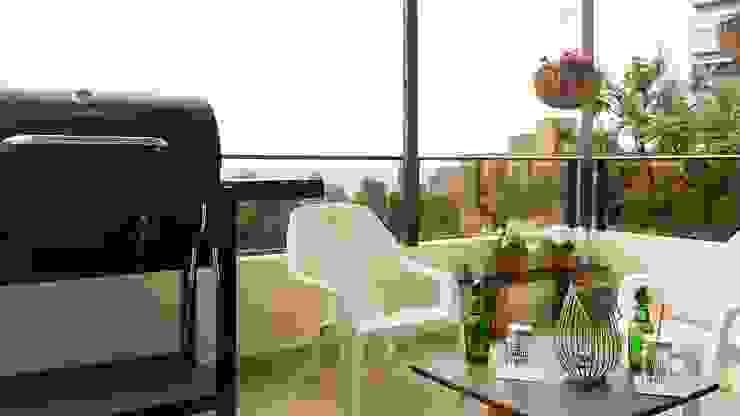 Balcón con Home Staging de homeblizz
