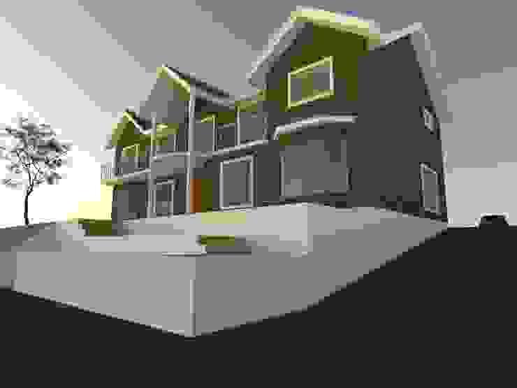 2 Casas estilo moderno: ideas, arquitectura e imágenes de homify Moderno Concreto