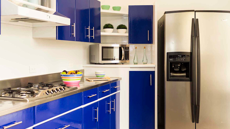 Cocina con Home Staging de homeblizz