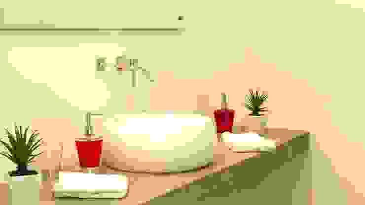 Baño con Home Staging de homeblizz