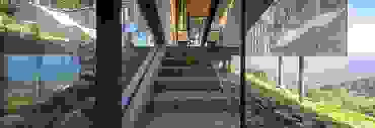Casa Curaumilla de Crescente Böhme Arquitectos Moderno Vidrio