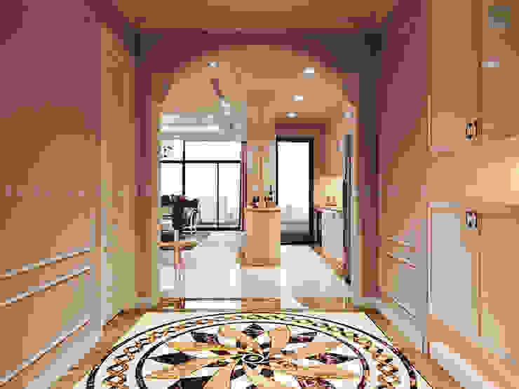 Nội thất căn hộ Vinhomes Central Park – Phong cách Tân Cổ Điển bởi ICON INTERIOR Kinh điển