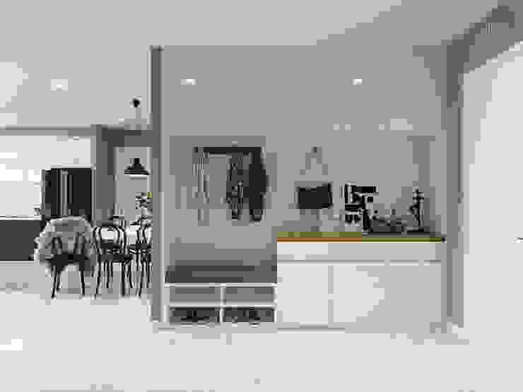 Nội thất căn hộ Vinhomes Ba Son – ICON INTERIOR bởi ICON INTERIOR Bắc Âu