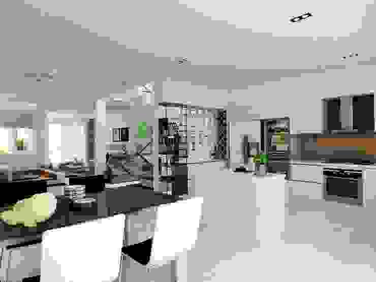 Các chi tiết của căn nhà đơn giản những vô cùng tinh tế. Phòng ăn phong cách hiện đại bởi Công ty TNHH TK XD Song Phát Hiện đại Đồng / Đồng / Đồng thau