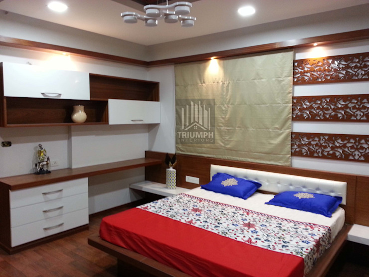Kidsbed Room Bed & study: modern  by TRIUMPH INTERIORS, Modern