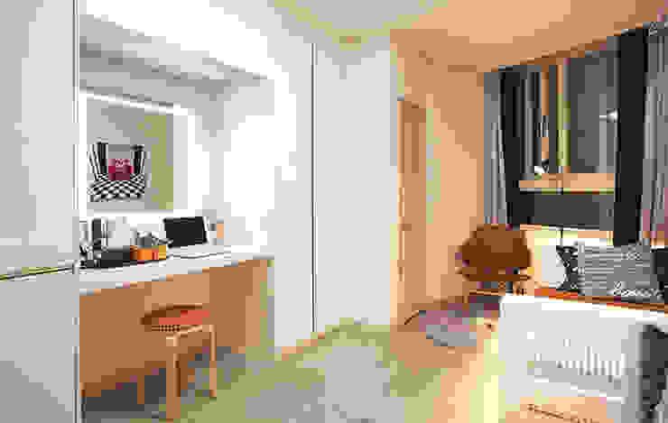 안산 센터하임 오피스텔 모델하우스 / D1-Type 모던스타일 드레싱 룸 by 에이프릴디아 모던