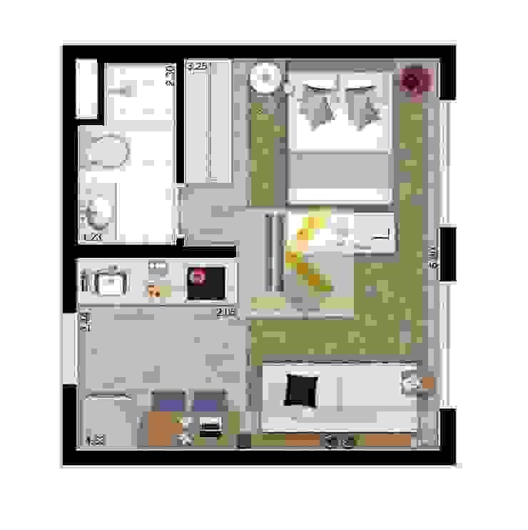 Nhà căn hộ cho thuê bởi Công ty TNHH Kiến Trúc - Xây Dựng KIẾN VĨNH THÀNH