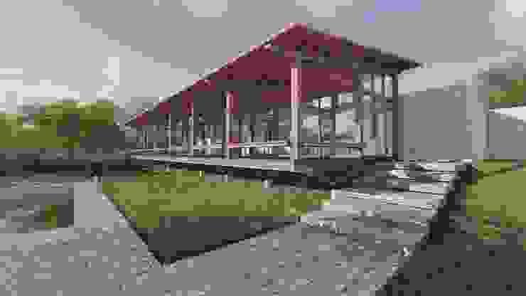 โดย ArqClub - Studio de Arquitetura มินิมัล ไม้ Wood effect