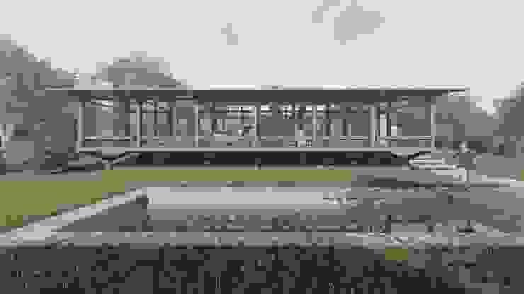 by ArqClub - Studio de Arquitetura Minimalist Wood Wood effect