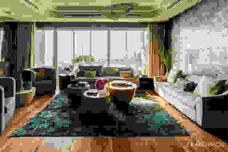 Polaris crystal chandelier Manooi Living roomLighting