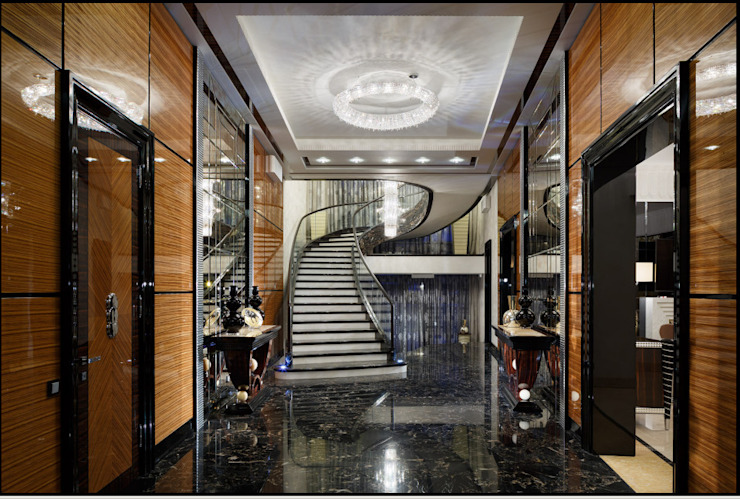 Rio crystal chandelier Manooi Corridor, hallway & stairsLighting