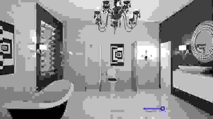 Bathroom in art deco style Classic style bathroom by 'Design studio S-8' Classic