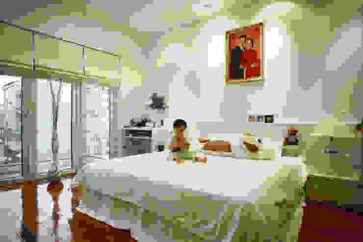 Đã Mắt Ngắm Mẫu Thiết Kế Nhà Phố Tuyệt Đẹp Trên Mảnh Đất 100m2 Phòng ngủ phong cách hiện đại bởi Công ty TNHH Xây Dựng TM – DV Song Phát Hiện đại