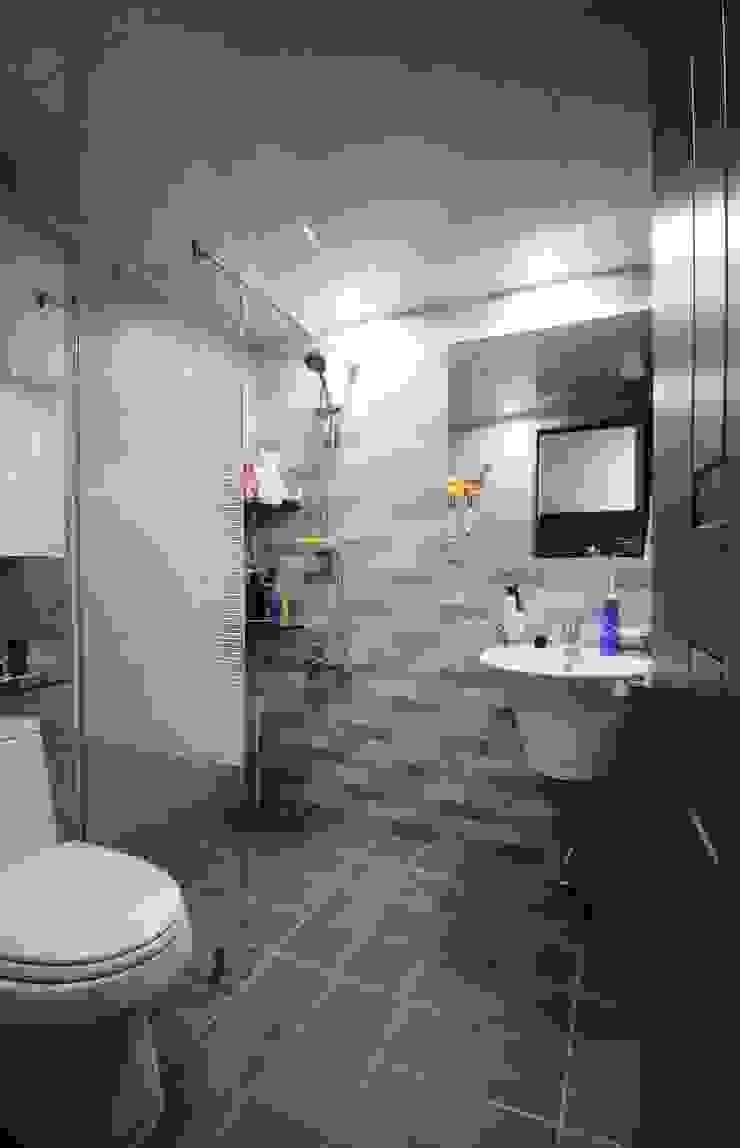 용문동 덕일 한마음 아파트 모던스타일 욕실 by 에이프릴디아 모던