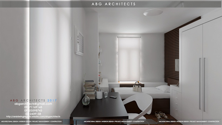 ABG Architects and Associates : Interior Works Bedroom Modern style bedroom by ABG Architects and Builders Modern