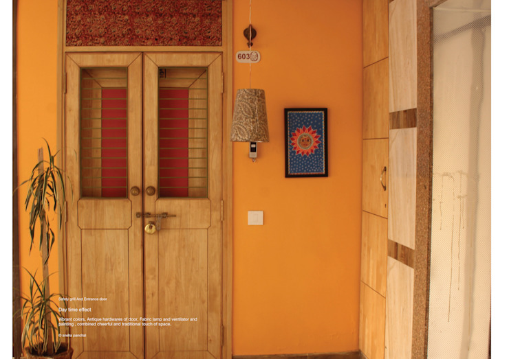 Classic style doors by studio18_by_sneha Classic