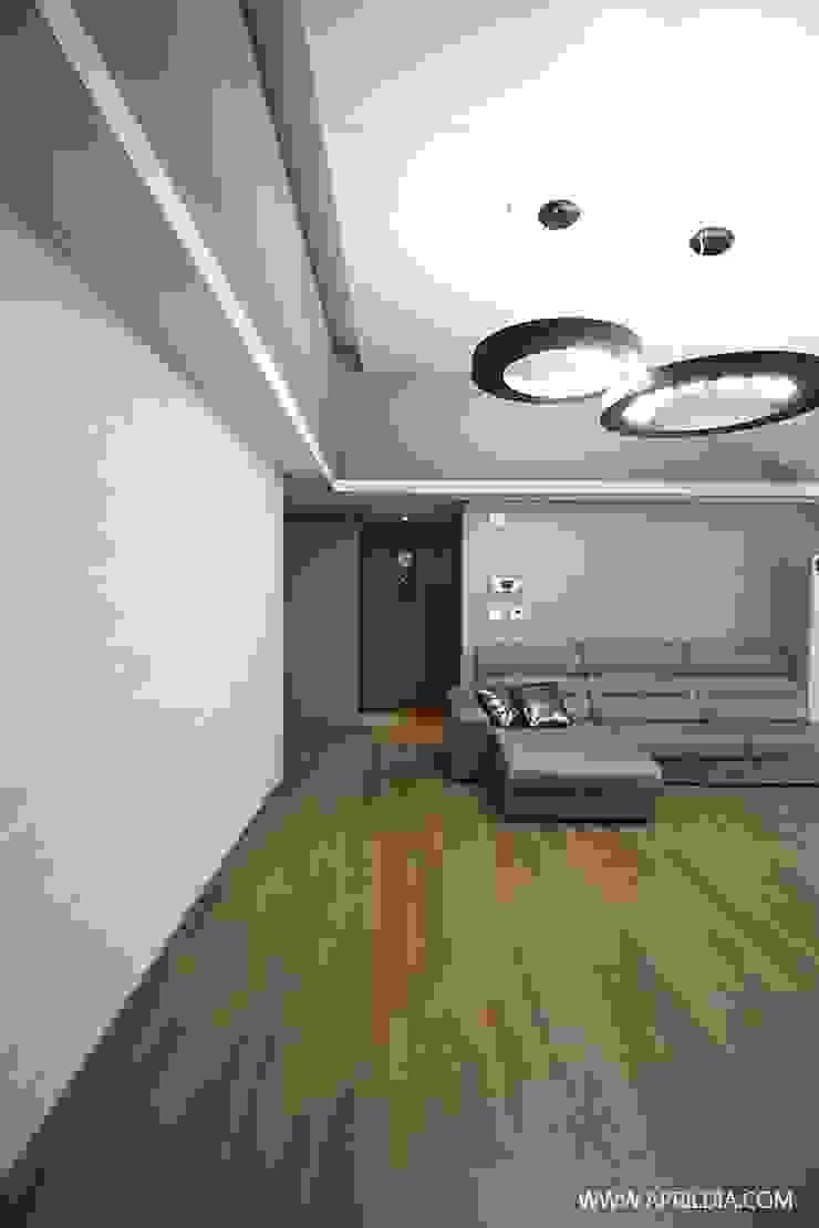 복수동 초록마을 34PY 아파트 모던스타일 거실 by 에이프릴디아 모던