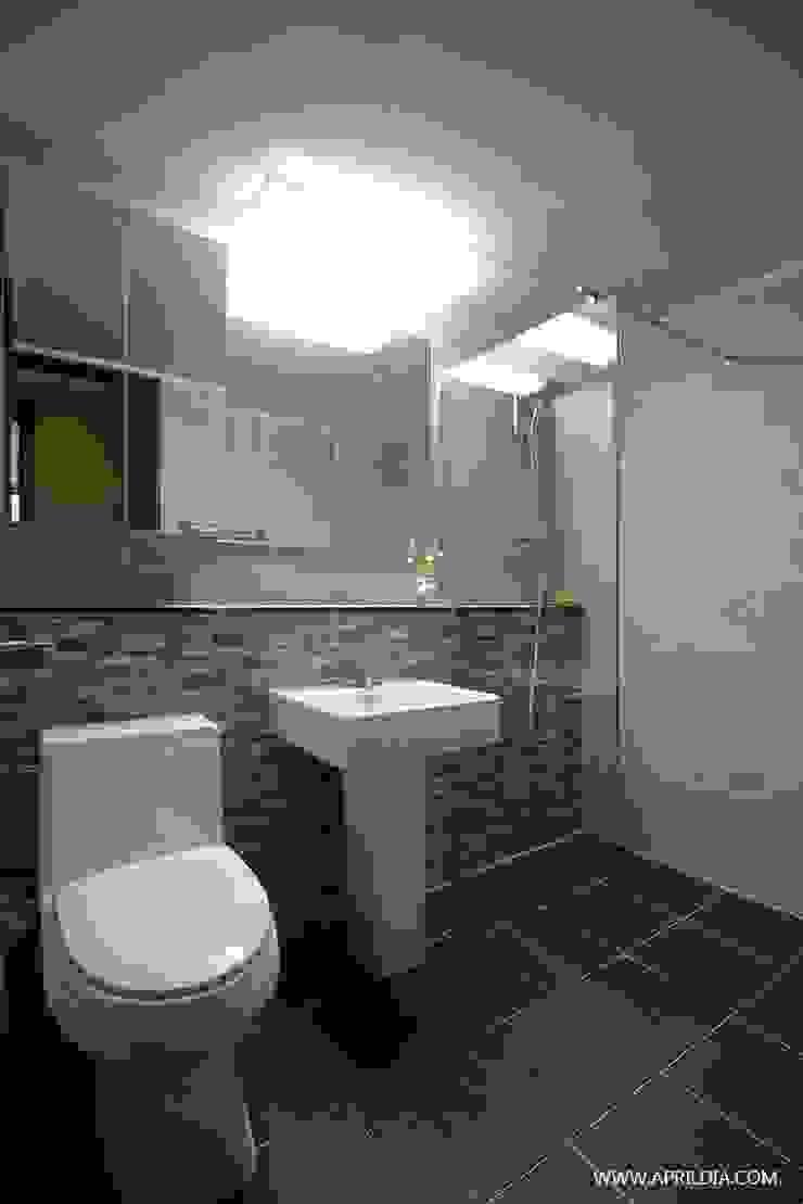 복수동 초록마을 34PY 아파트 모던스타일 욕실 by 에이프릴디아 모던