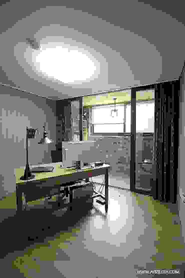복수동 초록마을 34PY 아파트 모던스타일 서재 / 사무실 by 에이프릴디아 모던