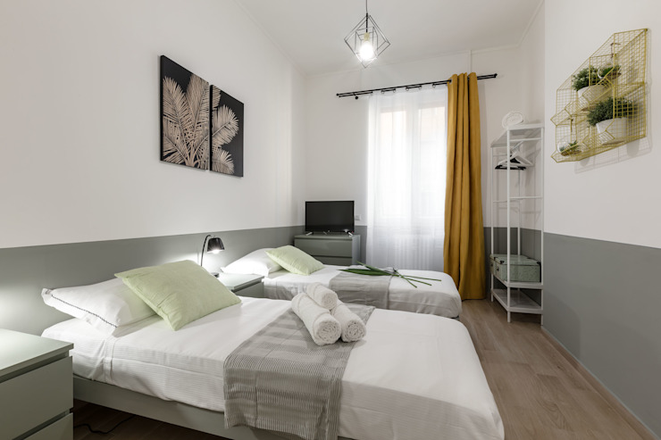 Casa MS Architrek Camera da letto moderna