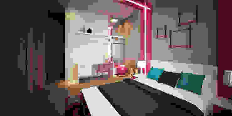 Kids' Bedroom من Lines Studios