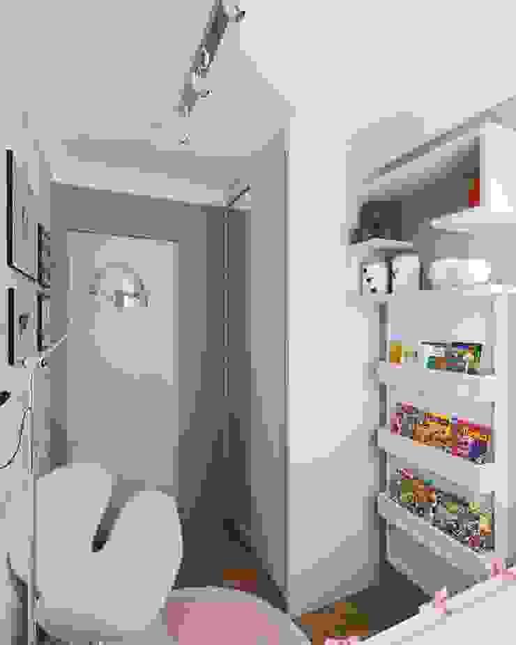 Secato Arquitetura e Interiores Girls Bedroom MDF Pink