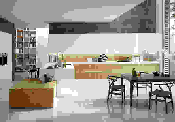 Isoko Proyecto Built-in kitchens Engineered Wood Wood effect