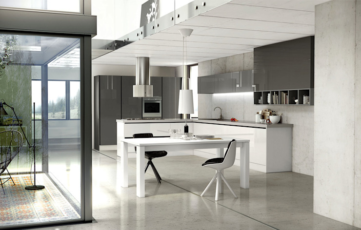Isoko Proyecto Built-in kitchens MDF White