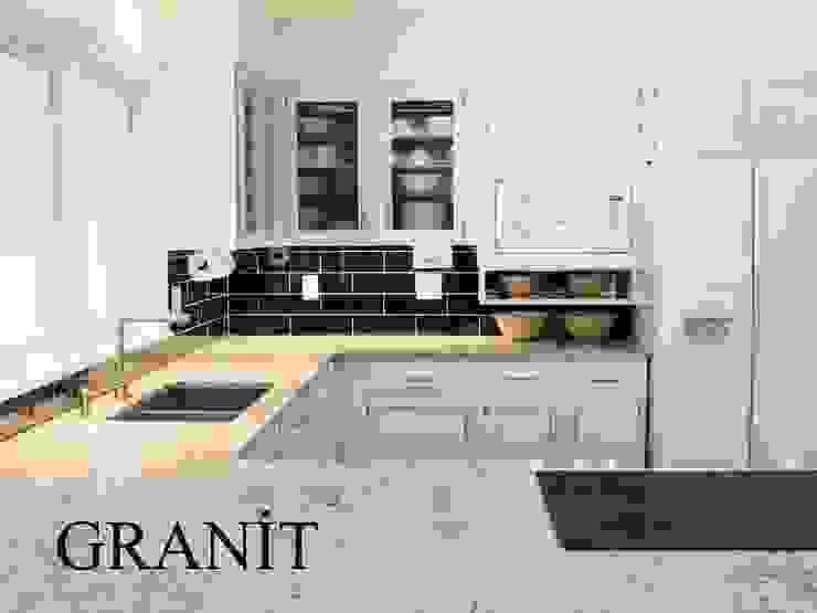 Granit Tezgah POLİMER DECOR Mermer Masa Mutfak Ve Banyo Tezgahları Uygulama Merkezi MutfakMutfak Tezgâhları Granit Bej