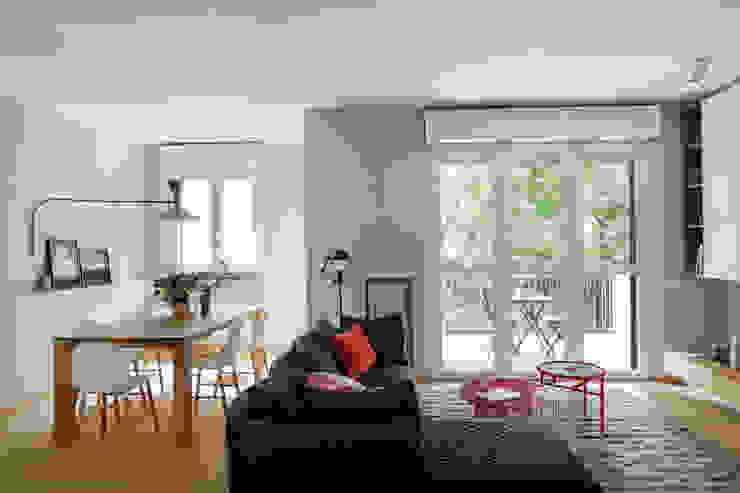 Living Euga Design Studio Soggiorno minimalista