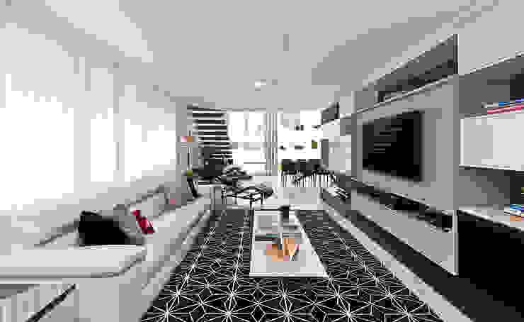 Minimalist living room by Espaço do Traço arquitetura Minimalist