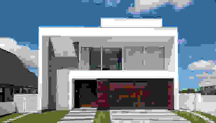 Rumah oleh Espaço do Traço arquitetura, Minimalis
