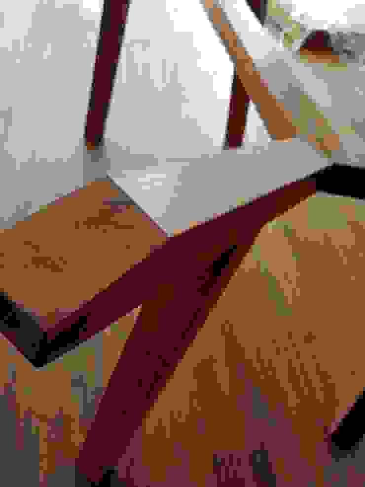 Base para mesa de madera sólida de Estilo en muebles Moderno Madera maciza Multicolor