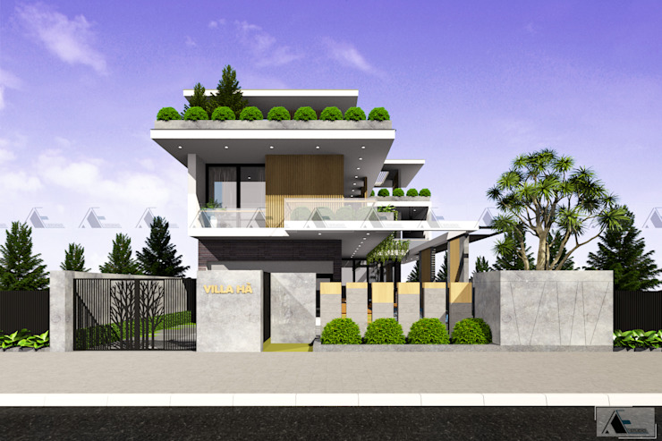 Villas by AE STUDIO DESIGN, Modern