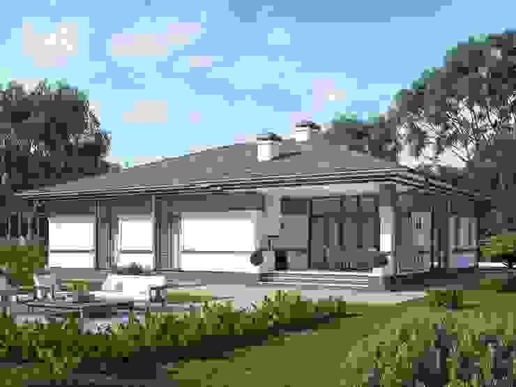 Монреаль_175м2 Дома в стиле кантри от Vesco Construction Кантри
