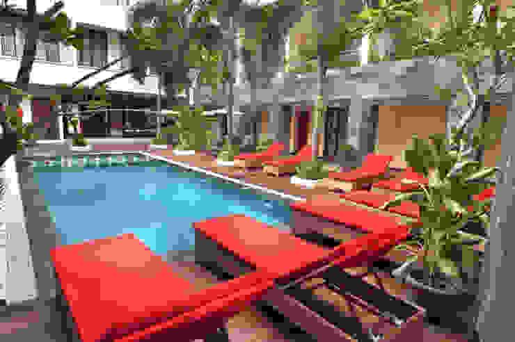 Ayola Vihan Suite Hotel in Tuban – Bali Hotel Modern Oleh ANJARSITEK Modern