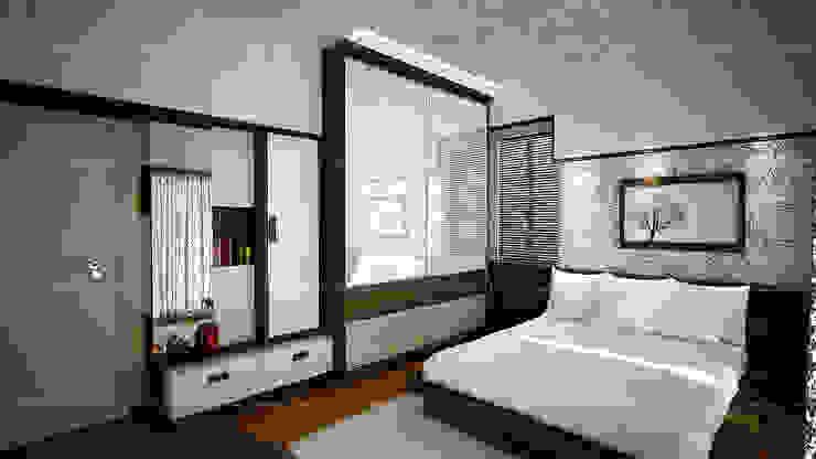Bedroom designs:  Bedroom by Fabmodula,