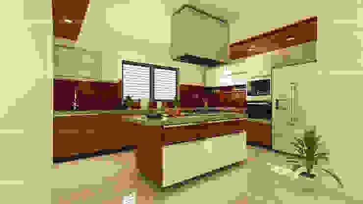 Kitchen designs Modern kitchen by Fabmodula Modern