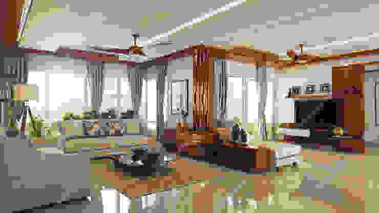 living room Modern living room by Fabmodula Modern