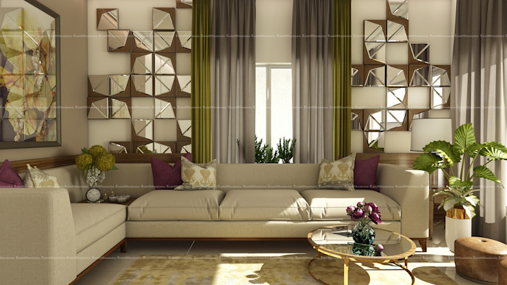Modern living room by Fabmodula Modern