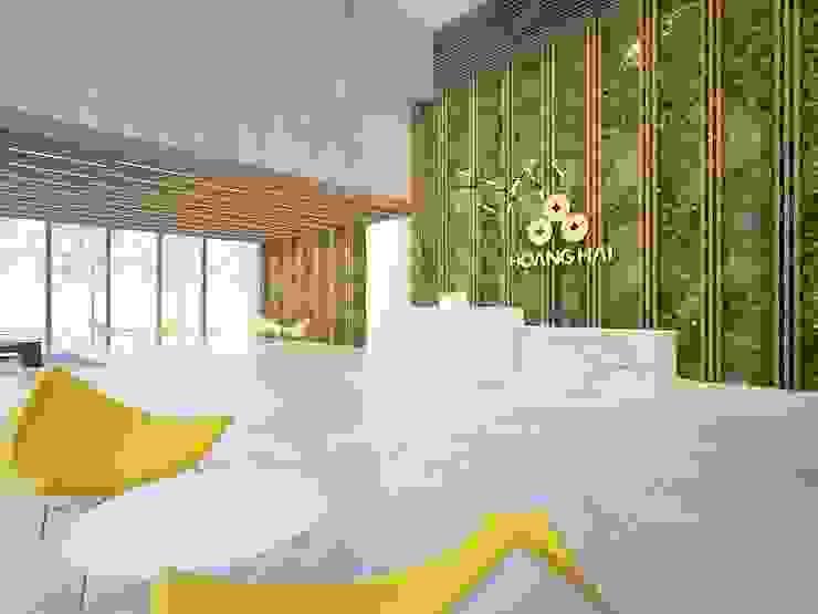Thiết kế nội thất văn phòng Công ty cổ phần bao bì Hoàng Hải bởi AFA Design Hiện đại