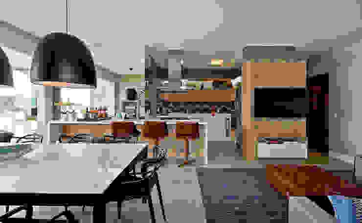 Espaço do Traço arquitetura Cuisine industrielle