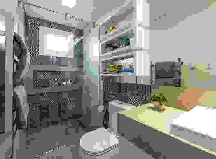 Banheiro infantil: Banheiros  por Espaço do Traço arquitetura,