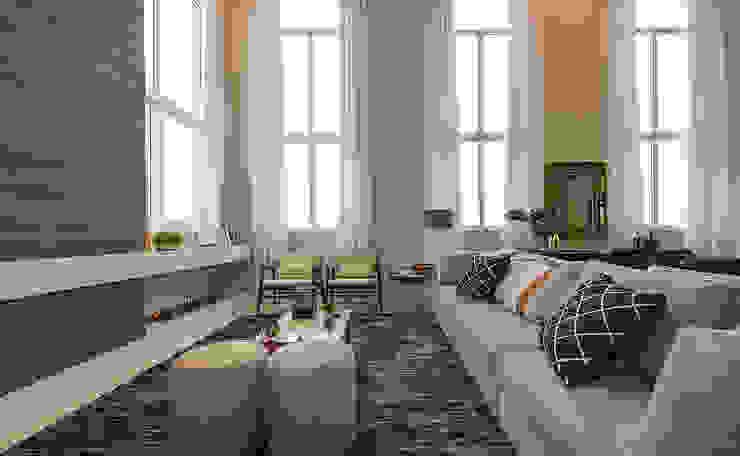 Living Salas de estar modernas por Espaço do Traço arquitetura Moderno