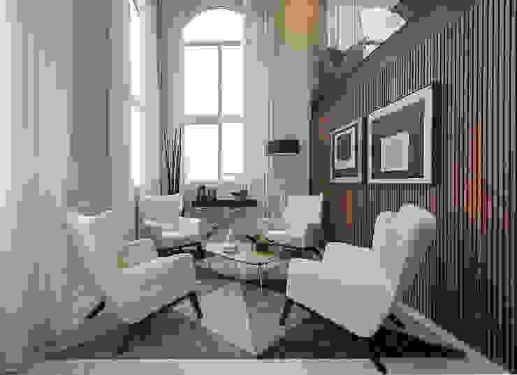 Living: Salas de estar  por Espaço do Traço arquitetura,Moderno