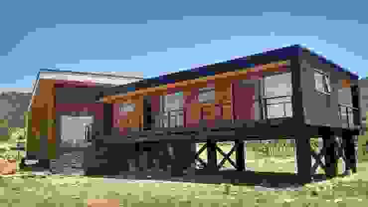 VIVIENDA, CONDOMINIO, SANTA CRUZ de KIMCHE ARQUITECTOS Moderno Madera Acabado en madera