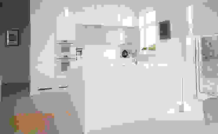 Garfield na Cozinha por Moderestilo - Cozinhas e equipamentos Lda Escandinavo MDF
