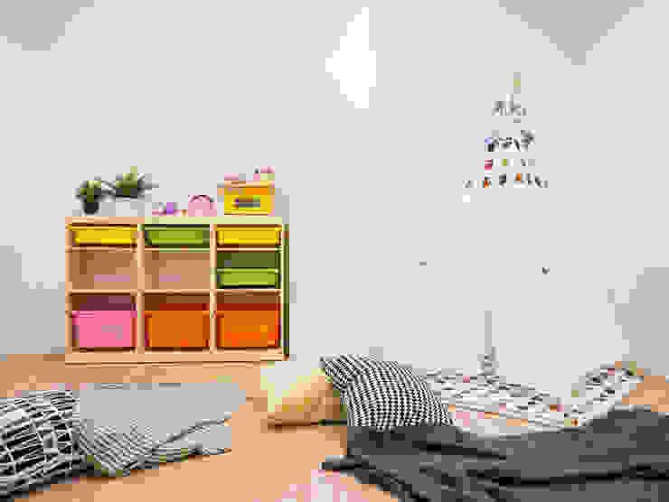 築本國際設計有限公司が手掛けた子供部屋, モダン